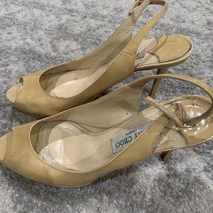 Jimmy Choo Shoes - Jimmy Choo Nude heel